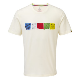 Sherpa Adventure Gear Tarcho Tee in Katha White