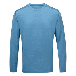 Sherpa Adventure Gear Rinchen Long Sleeve Tee in Raja Blue