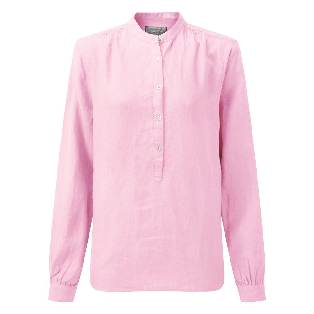 Athena Linen Shirt Pink