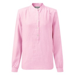 Schoffel Country Athena Linen Shirt in Pink