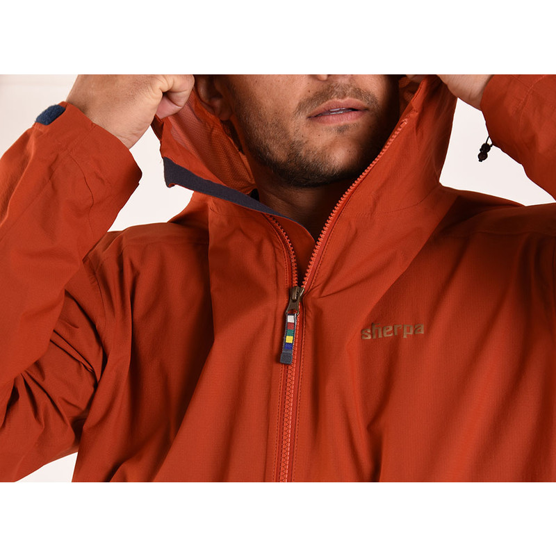 Asaar Jacket - Teej Orange