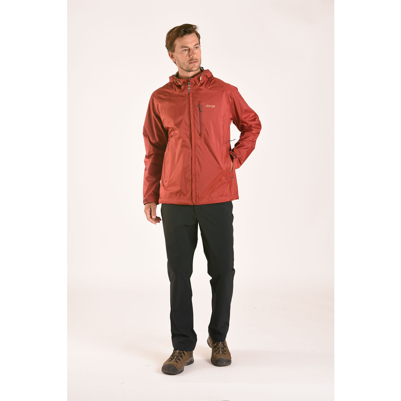 Kunde 2.5-Layer Jacket - Potala Red