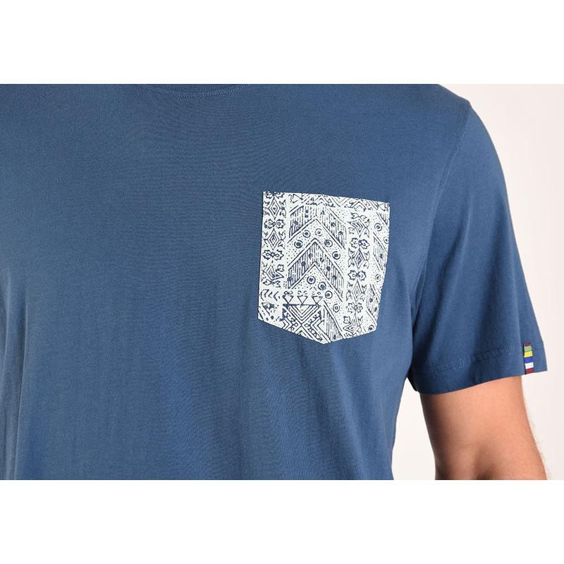 Durbar Pocket Tee - Neelo Blue