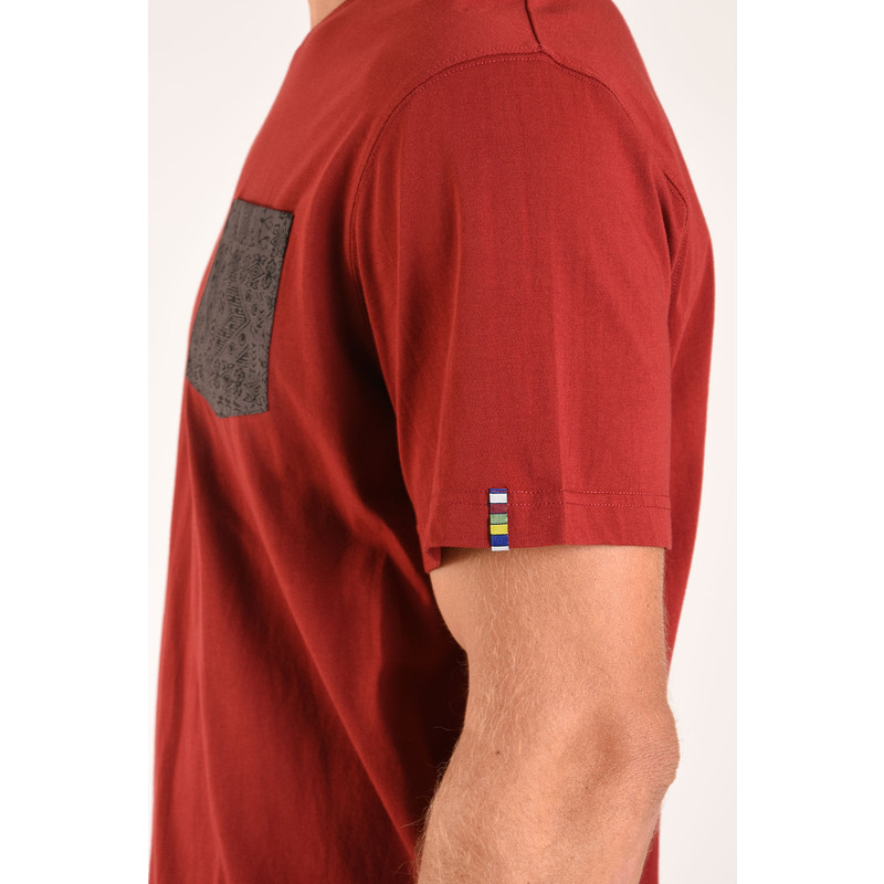 Durbar Pocket Tee - Potala Red