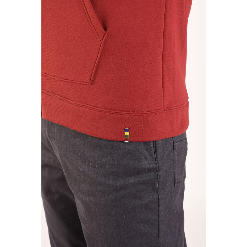 Jaaro Full Zip Hoodie - Potala Red