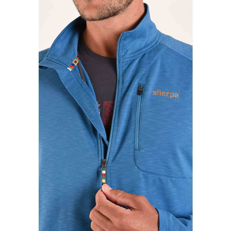 Om Jacket - Raja Blue