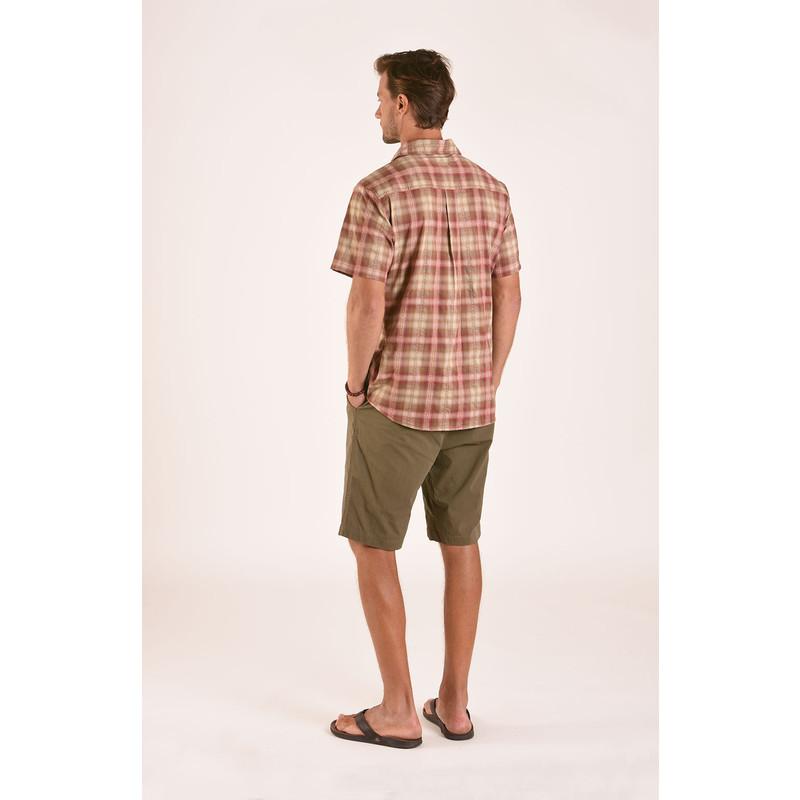 Manang Short Sleeve Shirt - Himal Pink