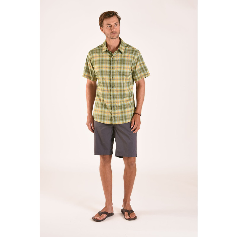 Manang Short Sleeve Shirt - Koshi Green