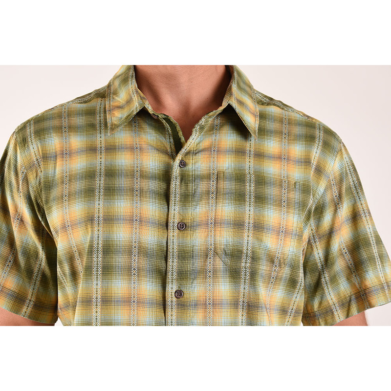 Manang Short Sleeve Shirt - Koshi Green