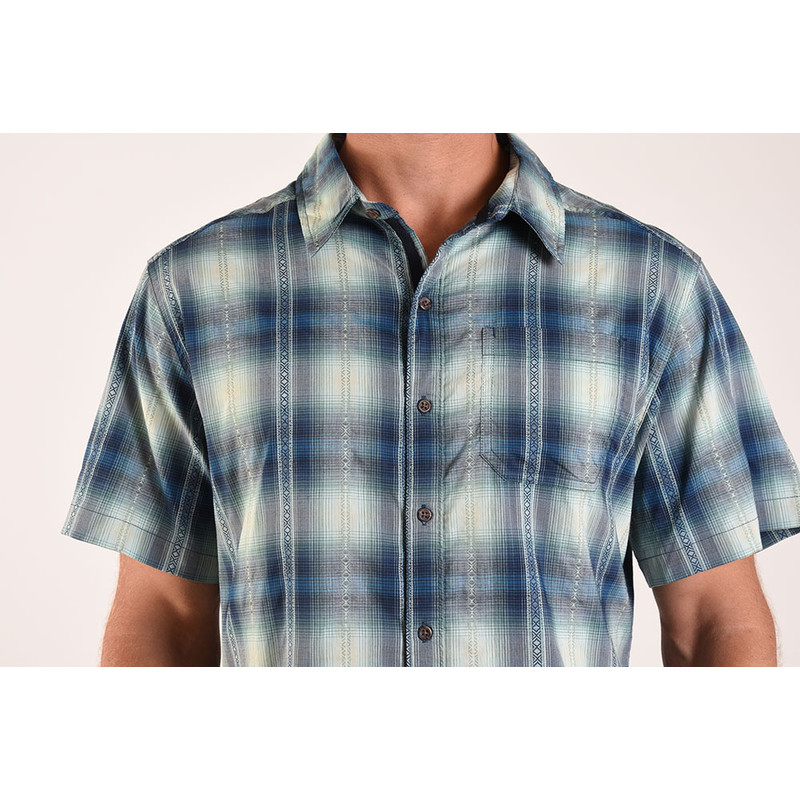 Manang Short Sleeve Shirt - Raja Blue