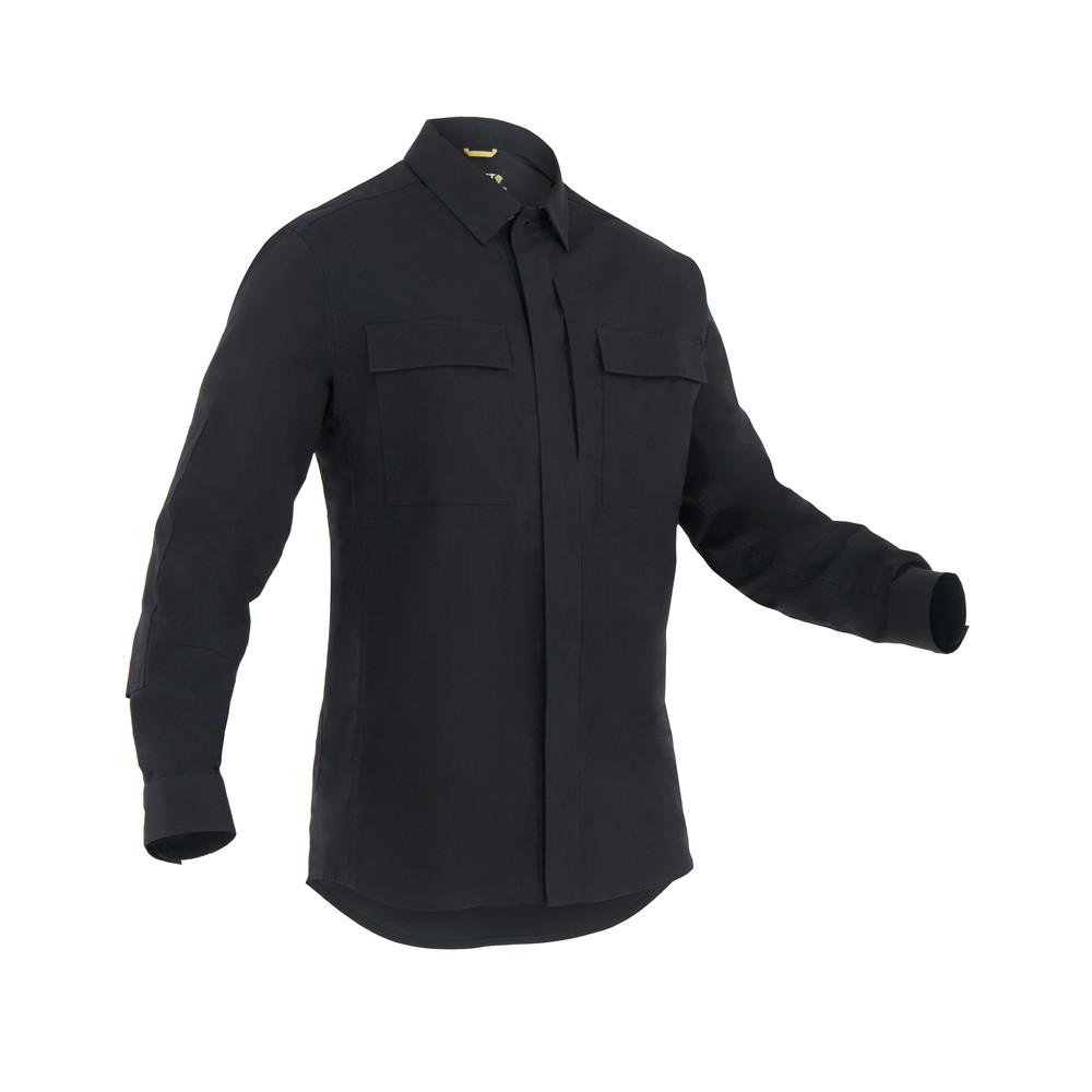 M's Tactix L/S BDU Shirt Black