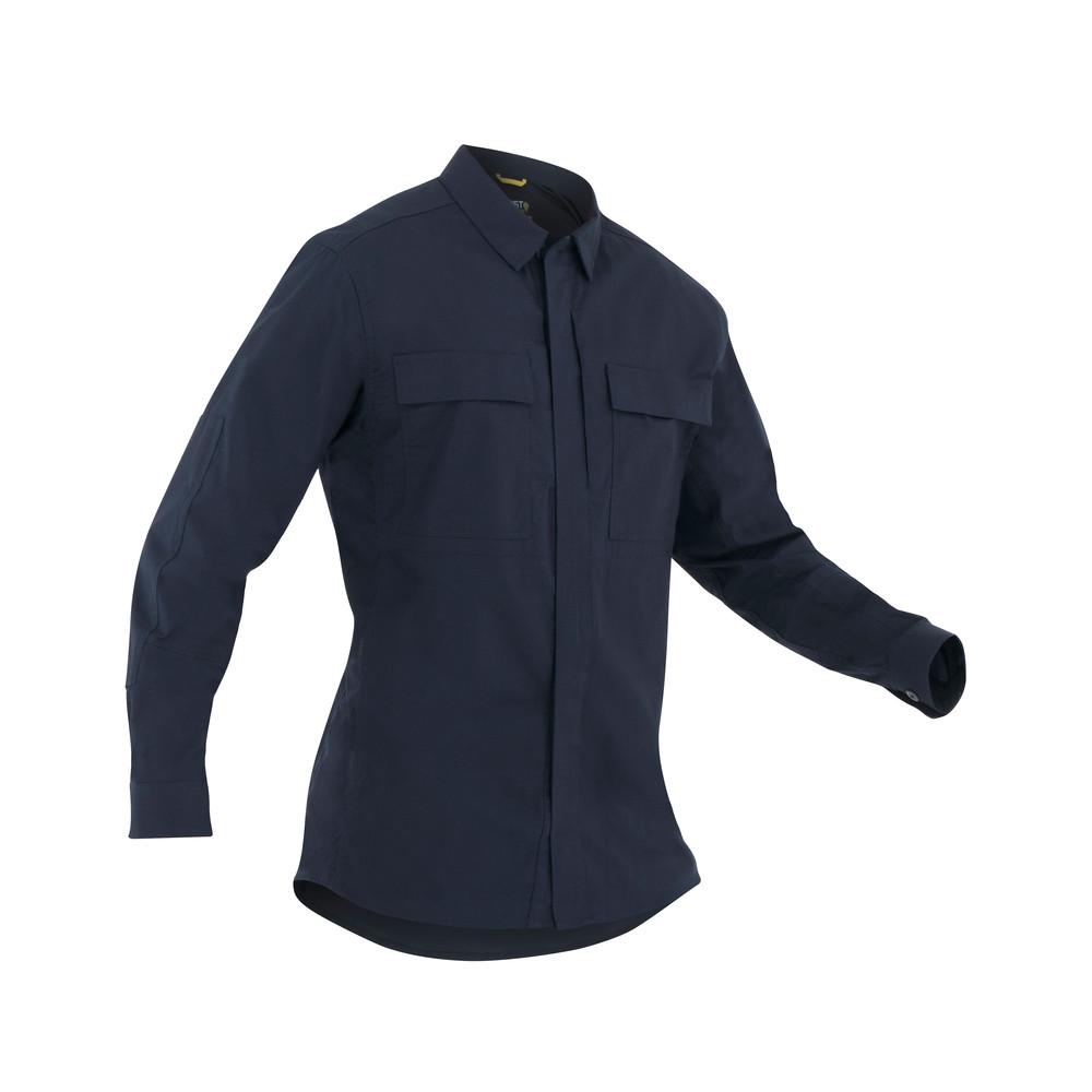 M's Tactix L/S BDU Shirt Midnight Navy