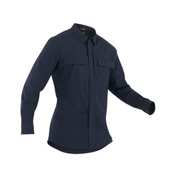 First Tactical M's Tactix L/S BDU Shirt in Midnight Navy