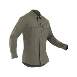 M's Tactix L/S BDU Shirt OD Green