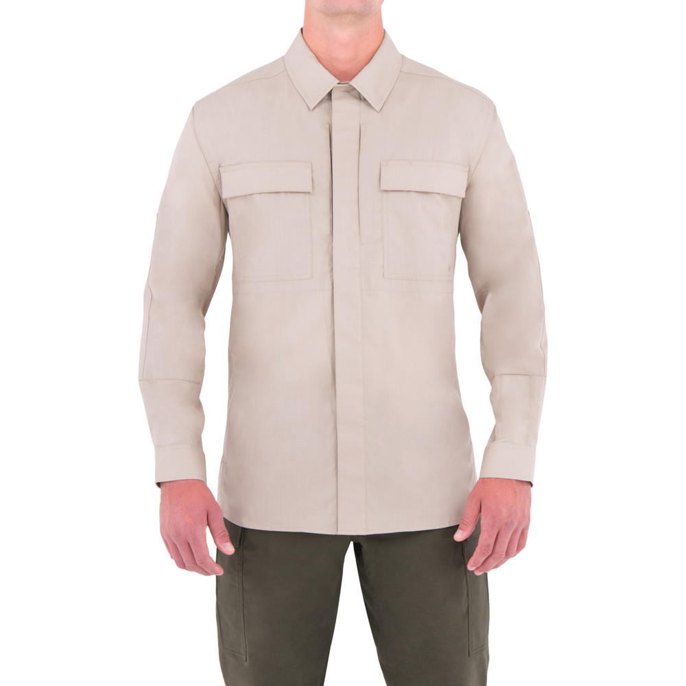 M's L/S BDU Shirt Khaki