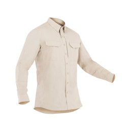 First Tactical M's L/S Tactical Shirt in Khaki