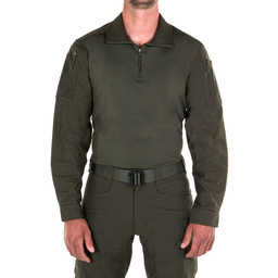 First Tactical Men's Defender Shirt in OD Green