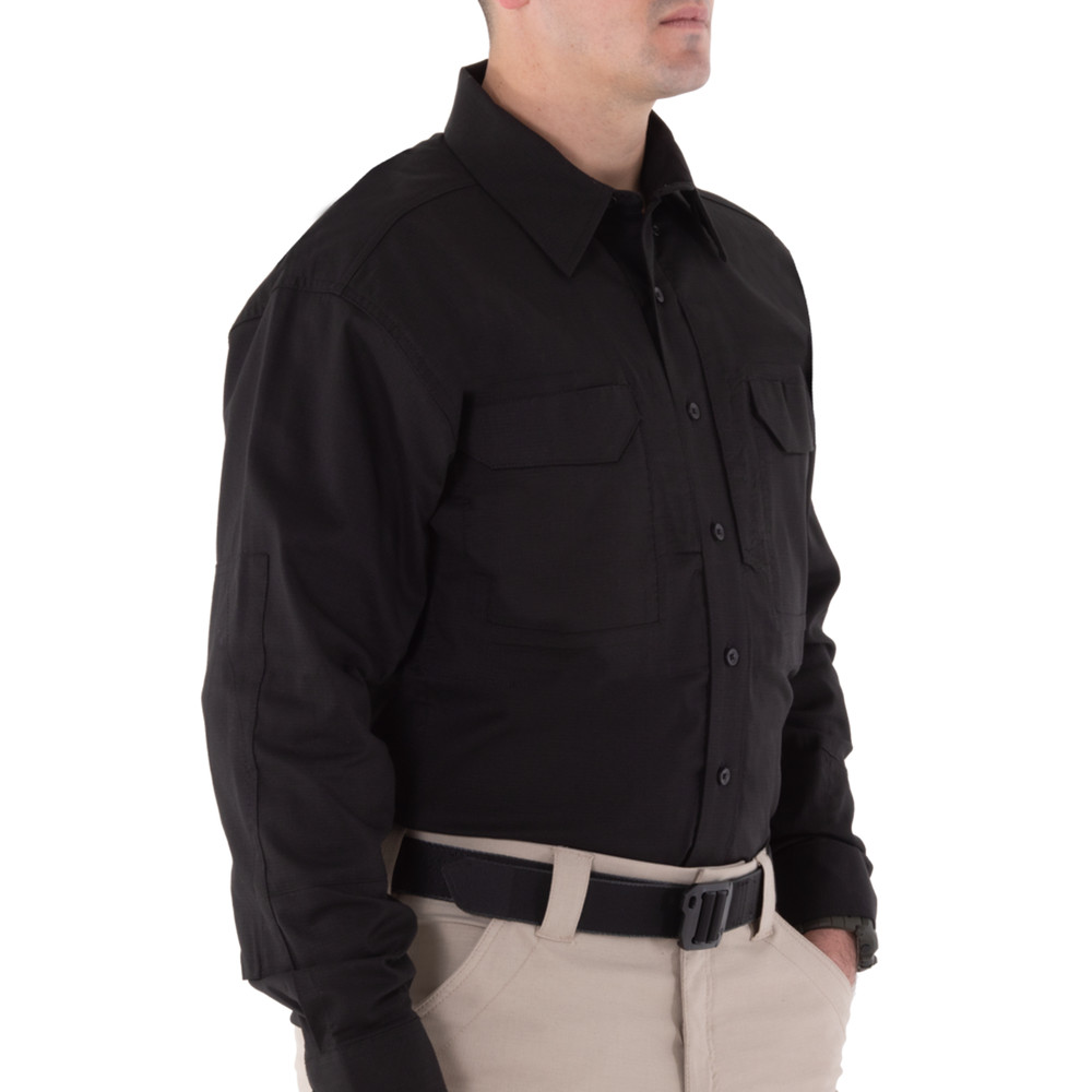 Men's V2 Tactical L/S Shirt Black