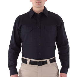 First Tactical Men's V2 Tactical L/S Shirt in Midnight Navy