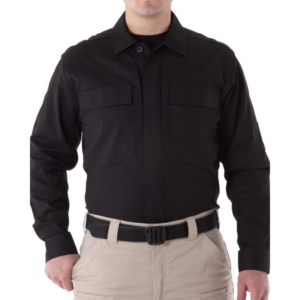 Men's V2 BDU L/S Shirt Black
