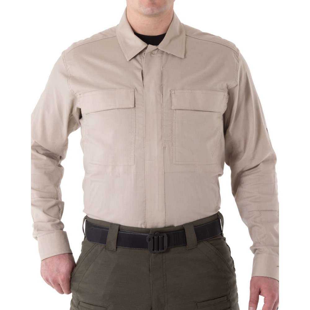 Men's V2 BDU L/S Shirt Khaki