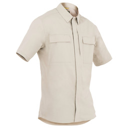 First Tactical M's Tactix S/S BDU Shirt in Khaki