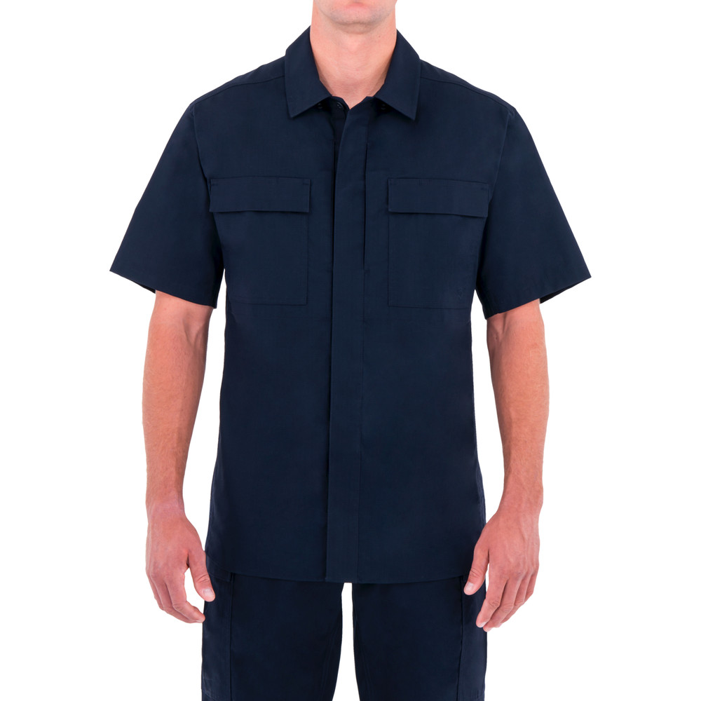 M's Tactix S/S BDU Shirt Midnight Navy