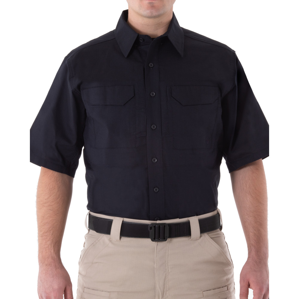 Men's V2 Tactical S/S Shirt Midnight Navy