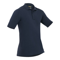 M's Cotton S/S Polo Midnight Navy