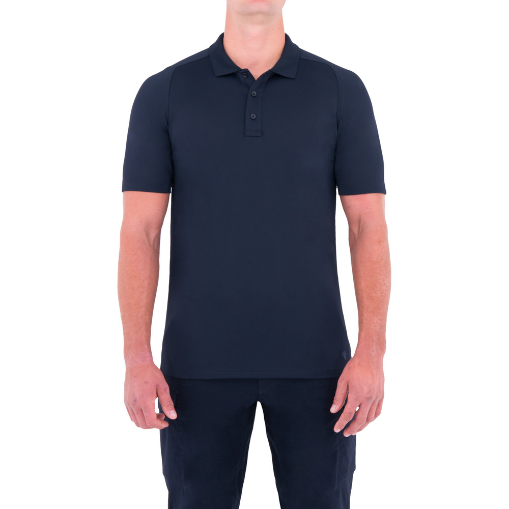 M's Performance S/S Polo Midnight Navy