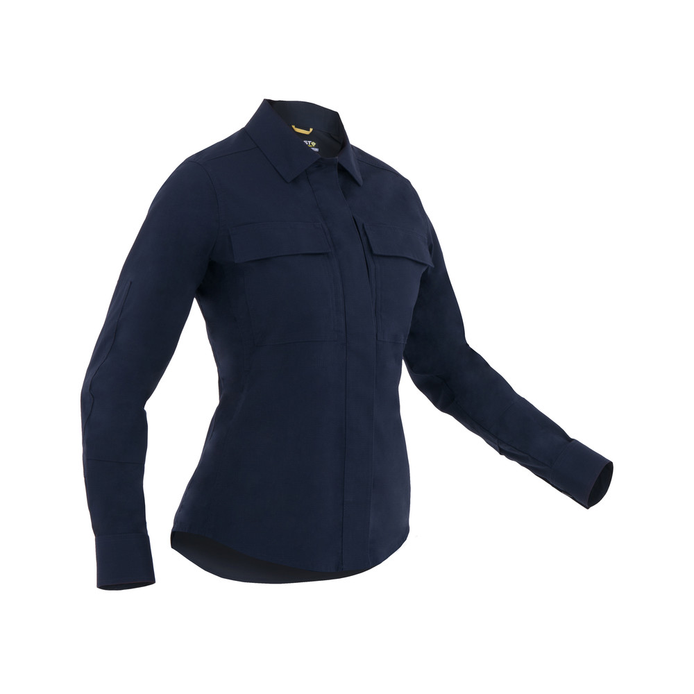 W's Tactix L/S BDU Shirt Midnight Navy