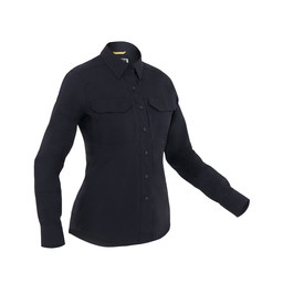 First Tactical W's L/S Tactical Shirt in Midnight Navy