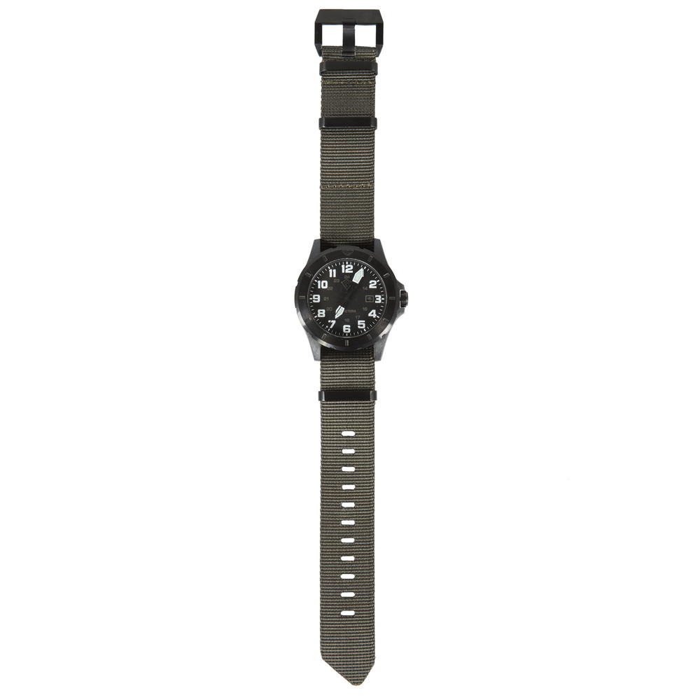 Ridgeline Carbon Field Watch Black / Green