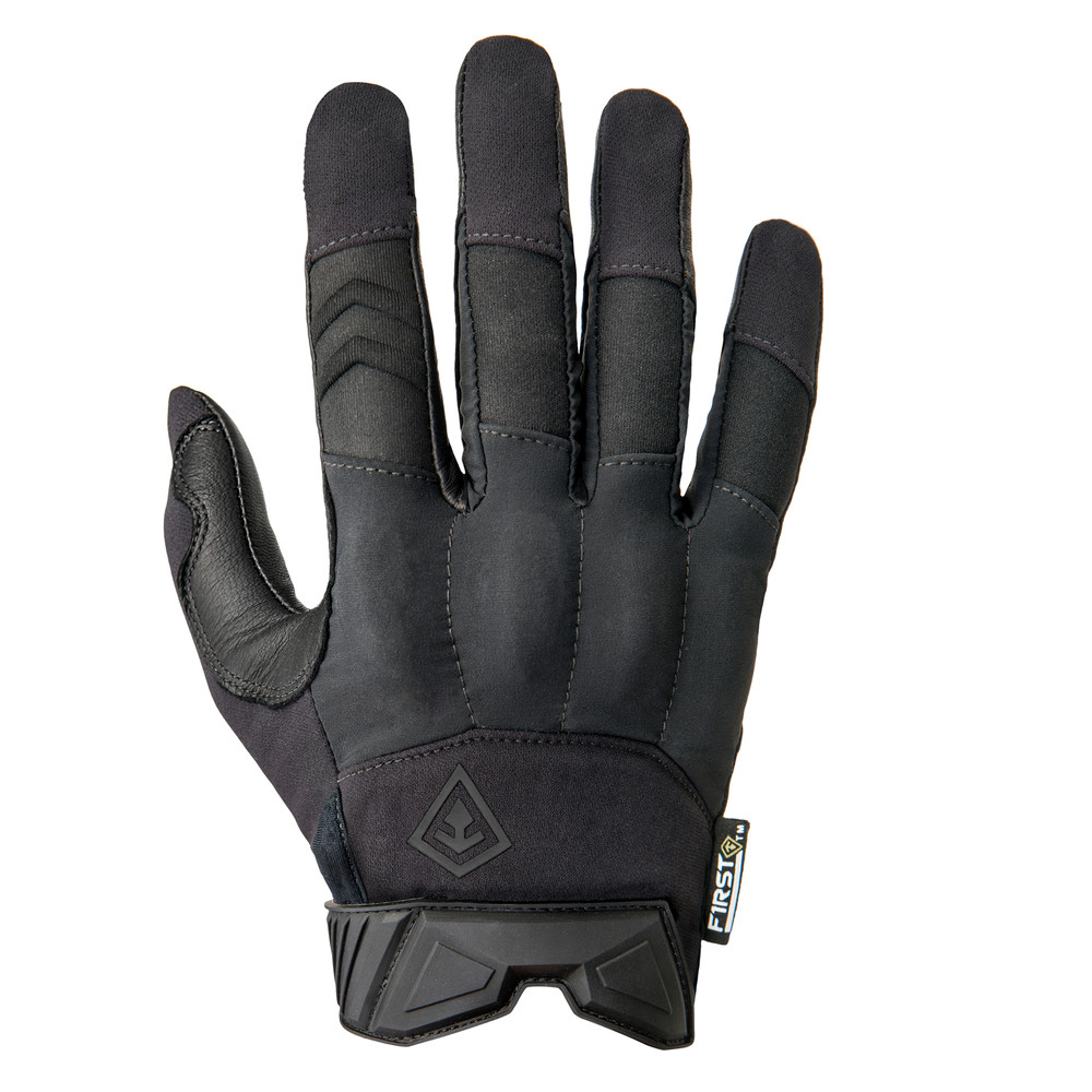 Hard Knuckle Glove Black