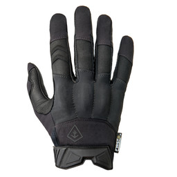 Hard Knuckle Glove Black
