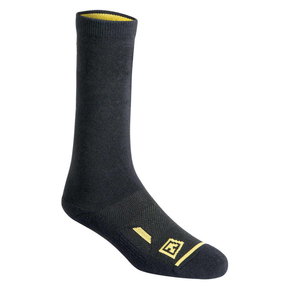 Cotton 6' Duty Sock 3-Pack Black
