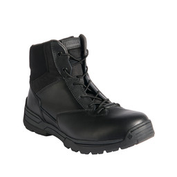 "M's 6"" Side Zip Duty Boot Black"