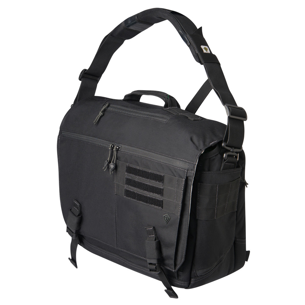 Ascend Messenger Bag Black