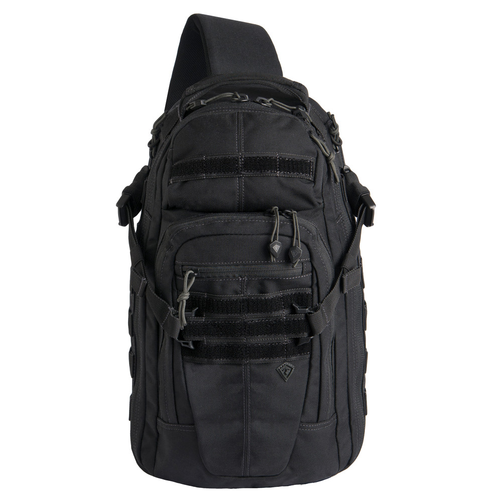 Crosshatch Sling Pack Black