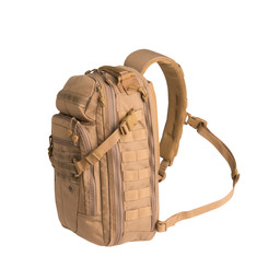 First Tactical Crosshatch Sling Pack in Coyote