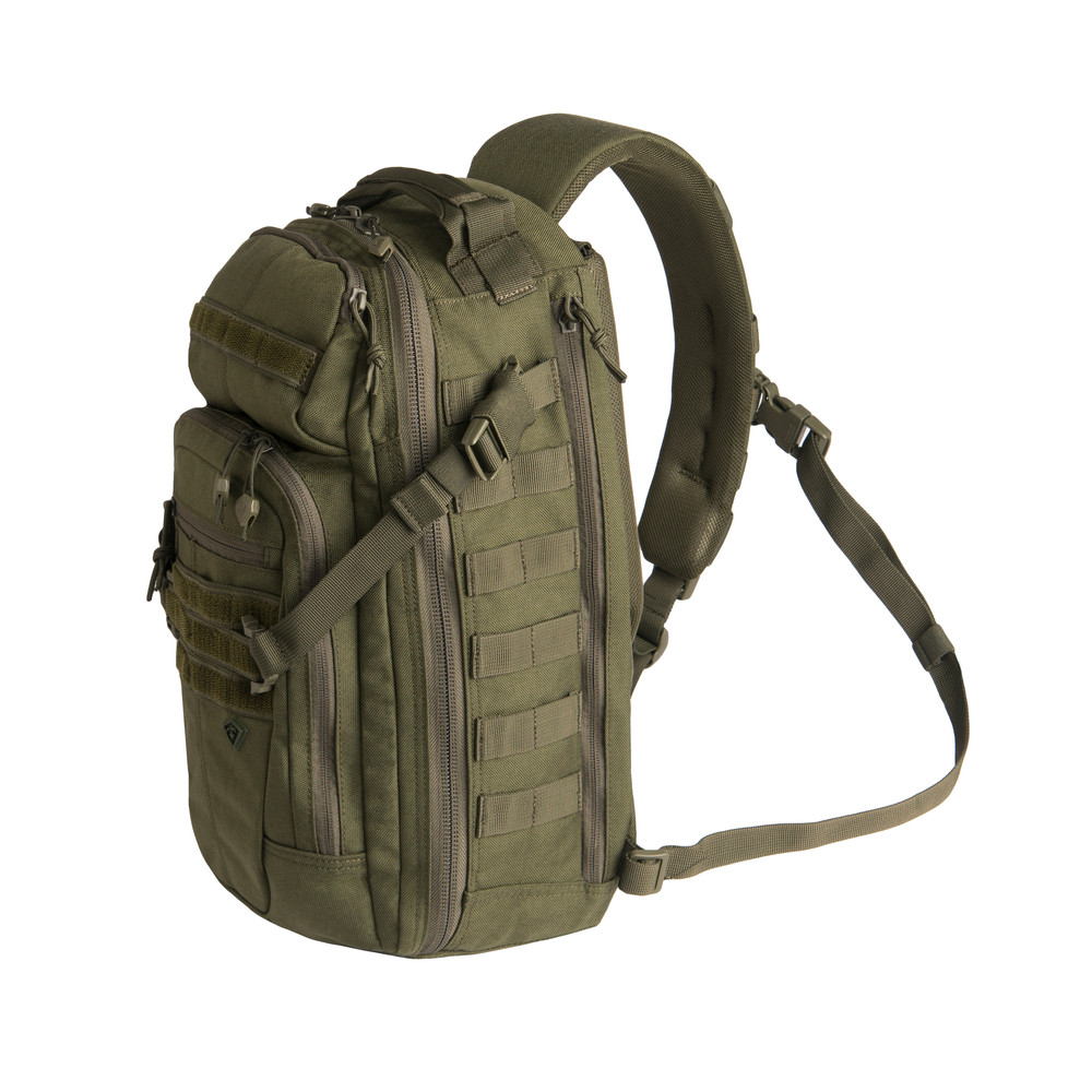 Crosshatch Sling Pack OD Green