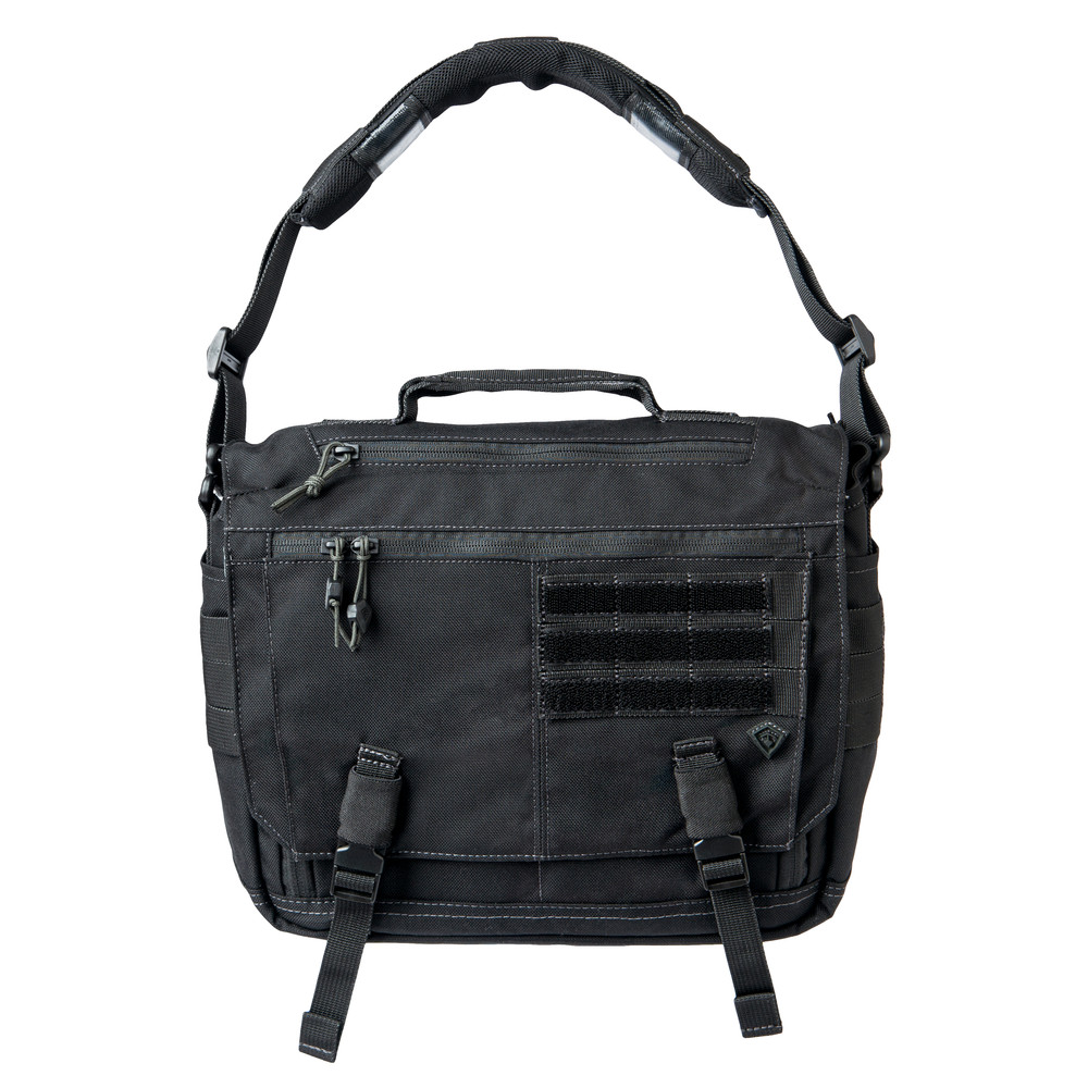 Summit Side Satchel Black