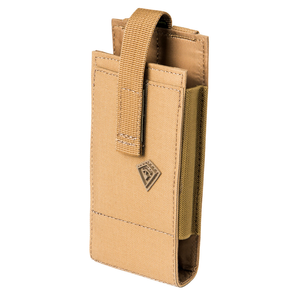 Tactix Large Media Pouch Coyote