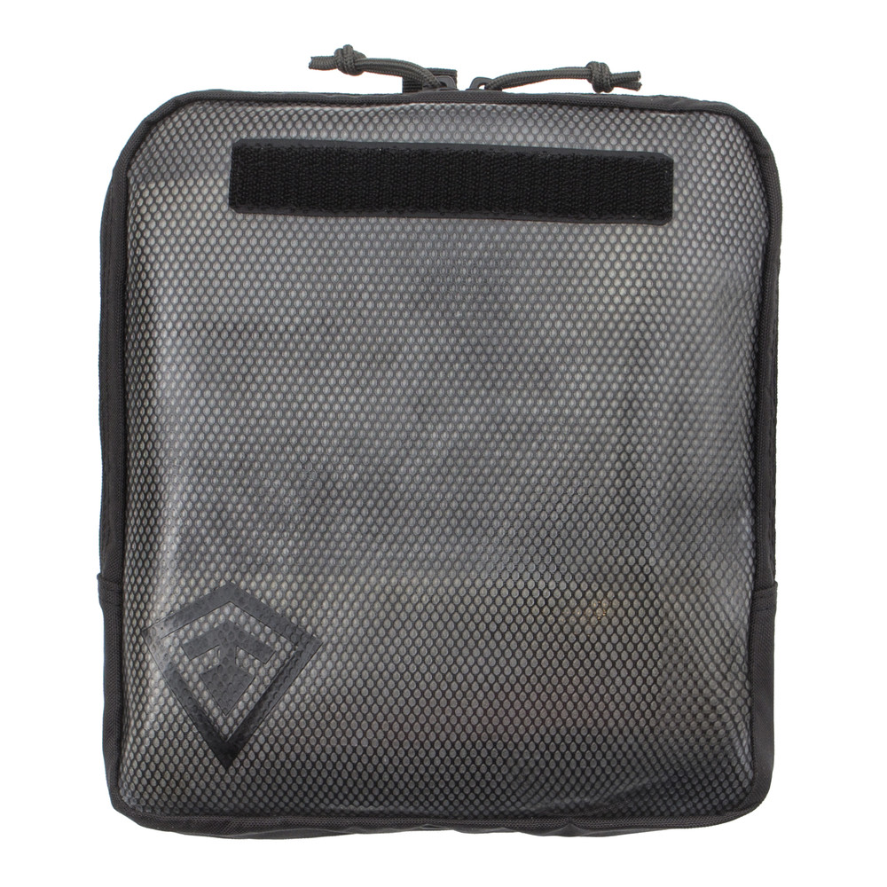 9X10 Velcro Pouch Asphalt