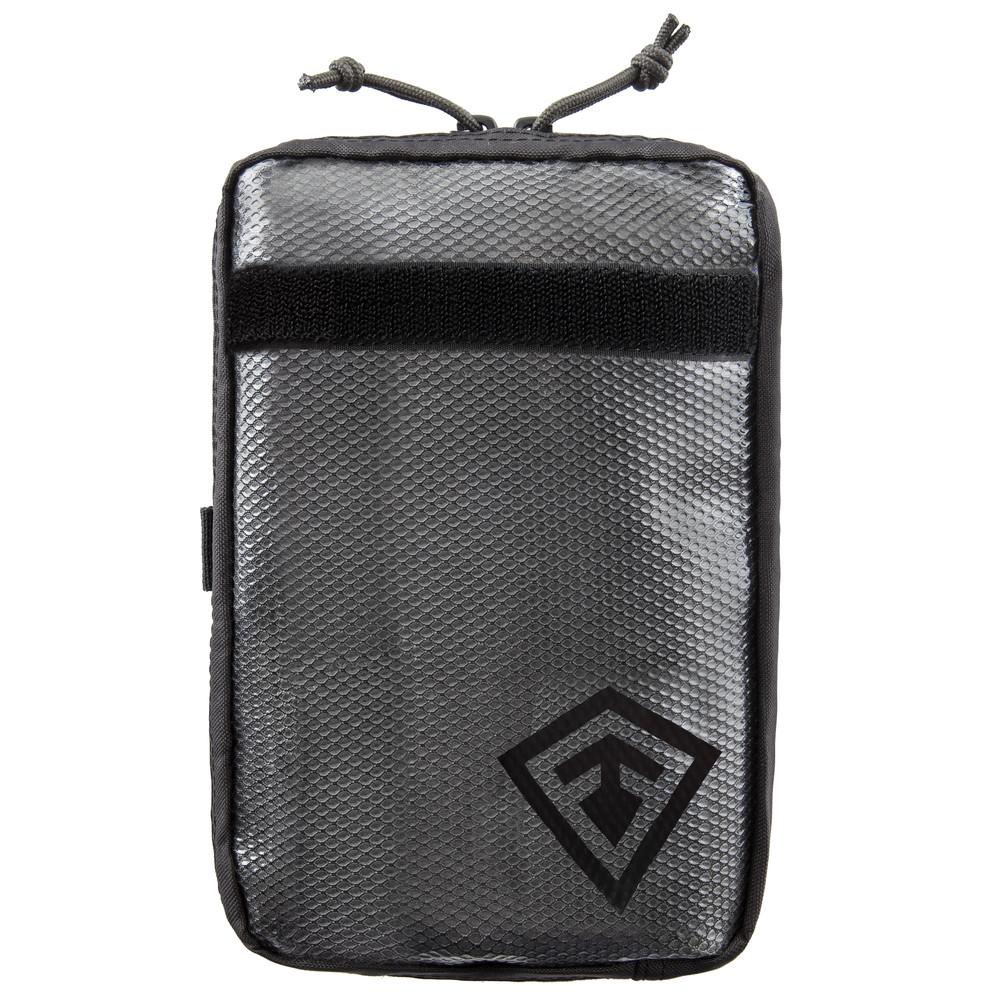 6X10 Velcro Pouch Asphalt