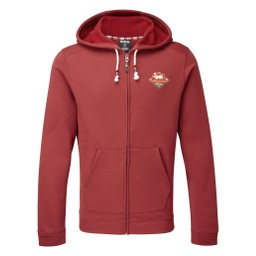 Jaaro Full Zip Hoodie     Potala Red