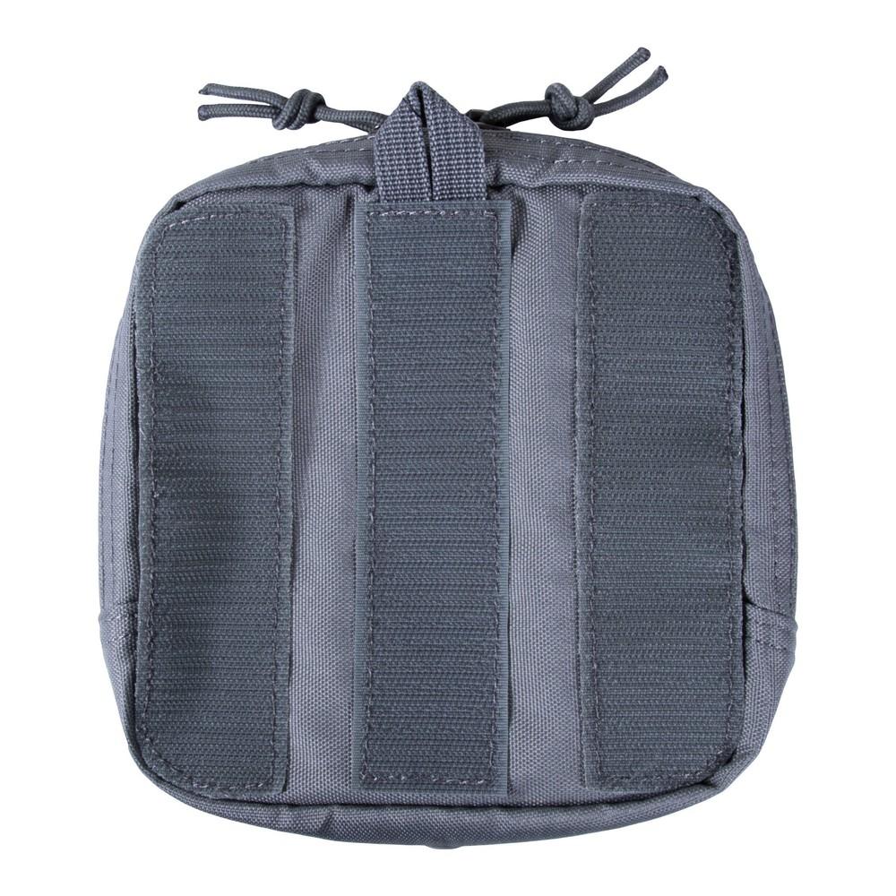 6X6 Velcro Pouch Asphalt