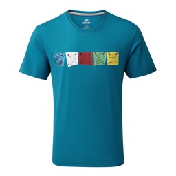 Sherpa Adventure Gear Tarcho Tee                in Raja Blue
