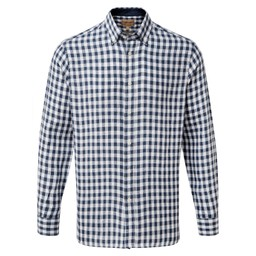 Schoffel Country Sandbanks Tailored Shirt in Navy Check