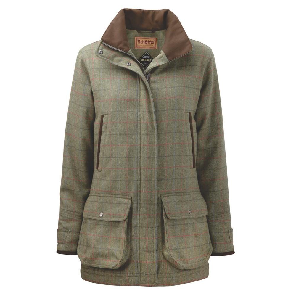 Ladies Ptarmigan Tweed Coat Bennet Tweed